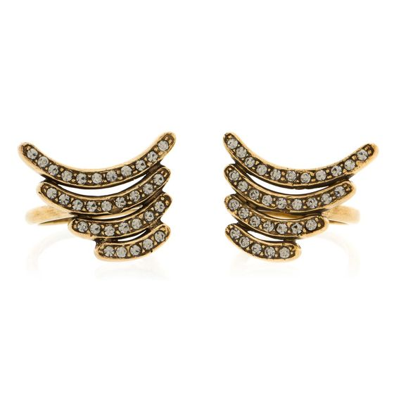 Kit de Anéis New Wings - Ouro Vintage - Essence Kit de Anéis New Wings  - Ouro Vintage - M