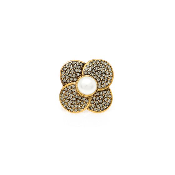 ANEL-PEARL-FLOWER-OURO-VINTAGE-FRENTE